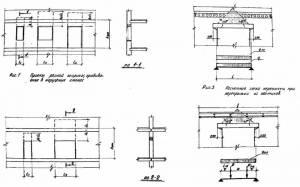 Типовой ТДКК-3-9 Рабочие чертежи перемычек при реконструкции